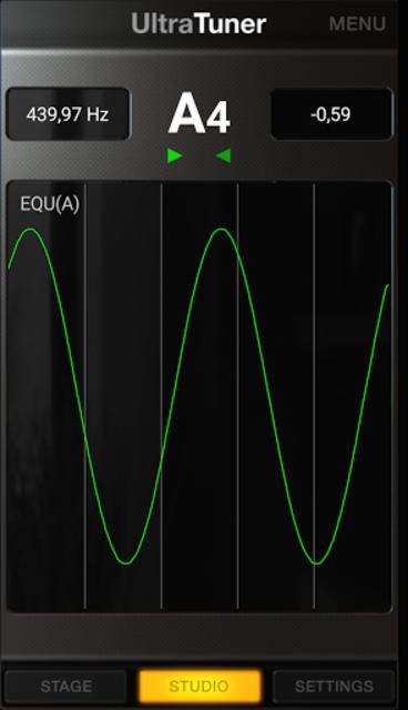 UltraTuner - Chromatic Tuner screenshot 4