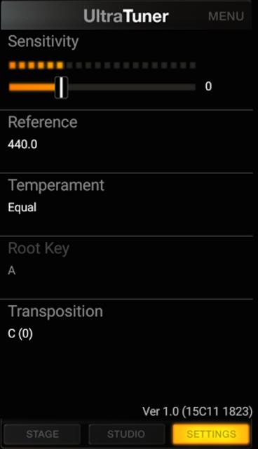 UltraTuner - Chromatic Tuner screenshot 5