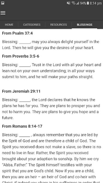 Bible Praying screenshot 4
