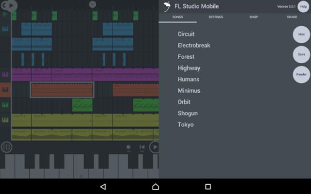 About: FL Studio Mobile (Google Play version) | FL Studio