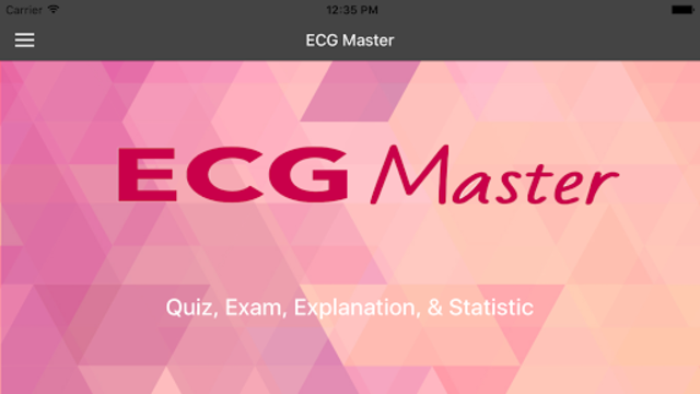 ECG Master: Quiz & Explanation screenshot 1