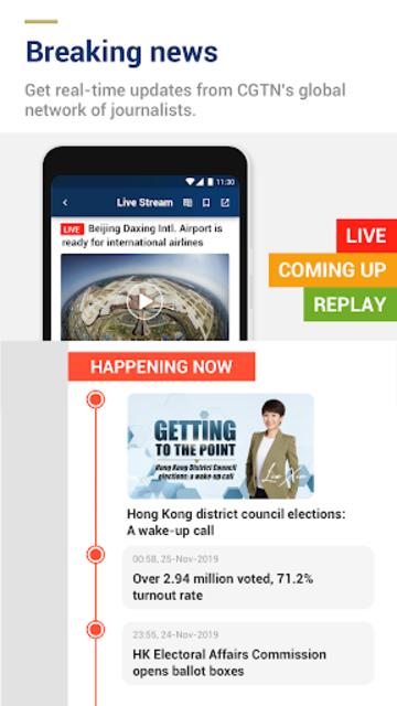 CGTN – China Global TV Network screenshot 1