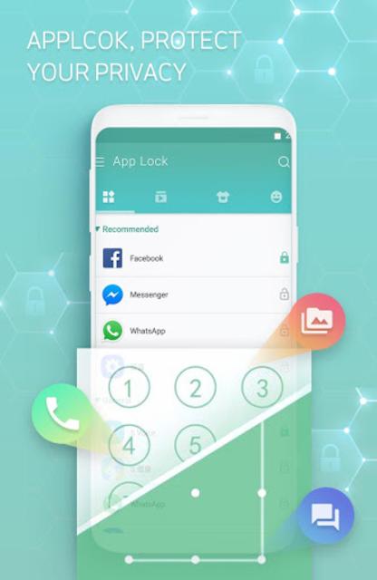 Applock-Fingerprint,Fake cover,Ulock theme screenshot 1