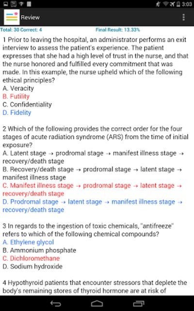 CCRN Test Review screenshot 8