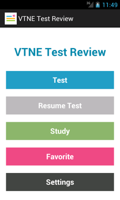 VTNE Test Review screenshot 1