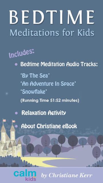 Bedtime Sleep Meditations for Children & Kids screenshot 1