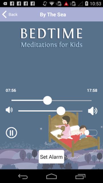 Bedtime Sleep Meditations for Children & Kids screenshot 4