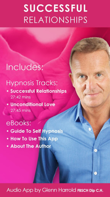 Successful Relationships - Romance & Love Hypnosis screenshot 1