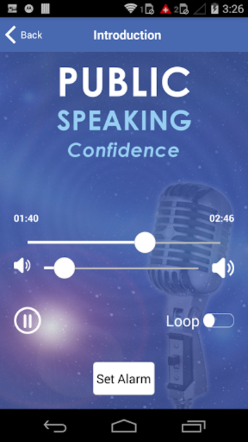 Public Speaking Confidence - Hypnosis for Speeches screenshot 3
