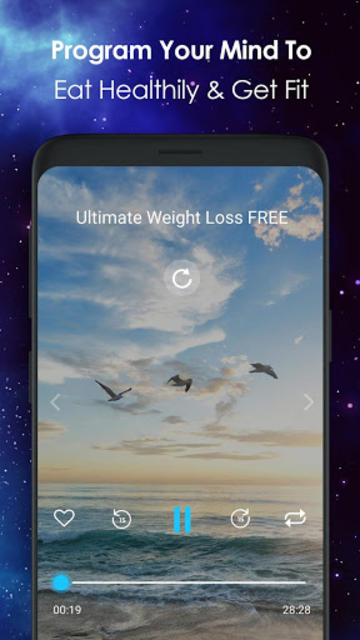 Ultimate Weight Loss - Hypnosis and Motivation screenshot 4