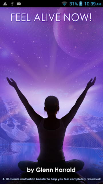 Feel Alive Now! Motivational Hypnosis Affirmations screenshot 2