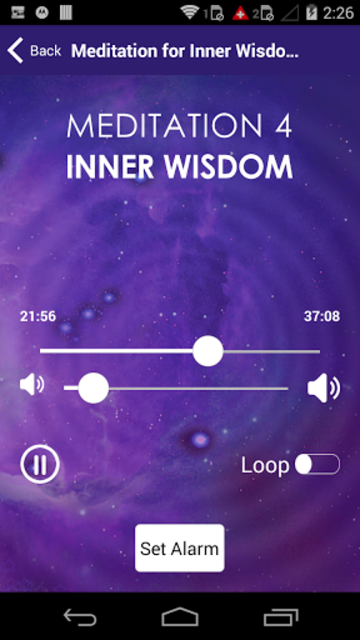 Meditation For Inner Wisdom for Healing & Anxiety screenshot 2