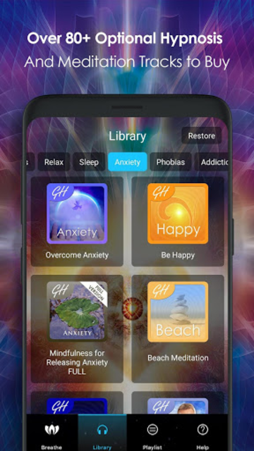 Create Inner Peace - Hypnosis & Meditation screenshot 3