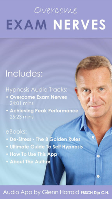Overcome Exam Nerves Hypnosis for Studying & Tests screenshot 1