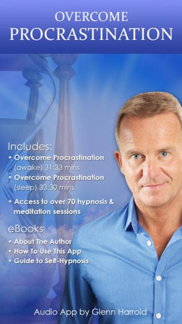Overcome Procrastination - Hypnosis for Motivation screenshot 1