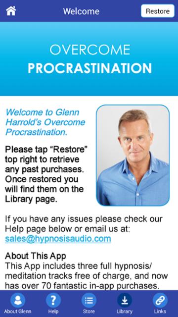 Overcome Procrastination - Hypnosis for Motivation screenshot 3