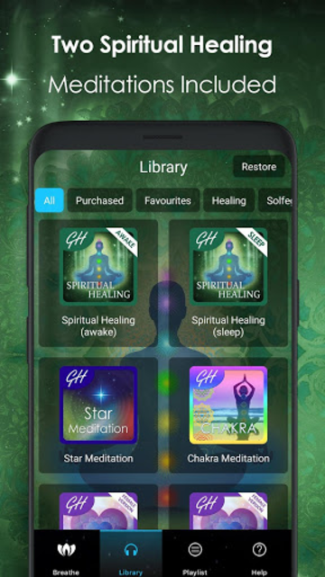Spiritual Healing - Shamanic Energy Meditation screenshot 2