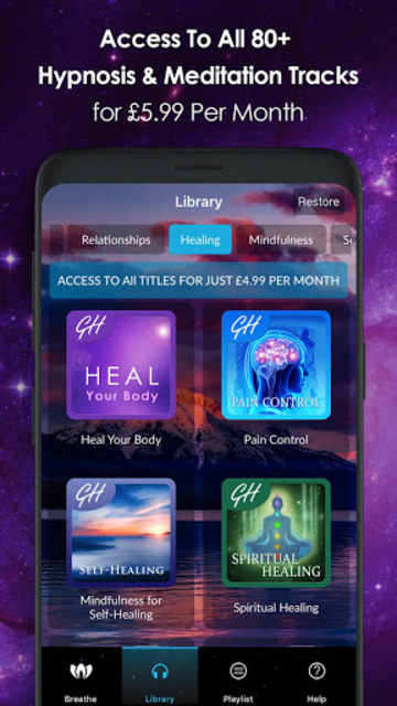Ultimate Hypnosis and Meditation by Glenn Harrold screenshot 4
