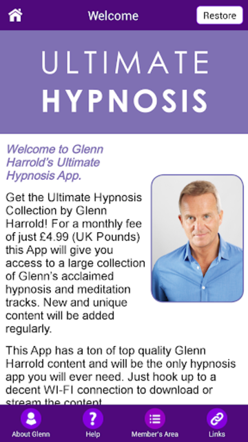 Ultimate Hypnosis and Meditation by Glenn Harrold screenshot 6
