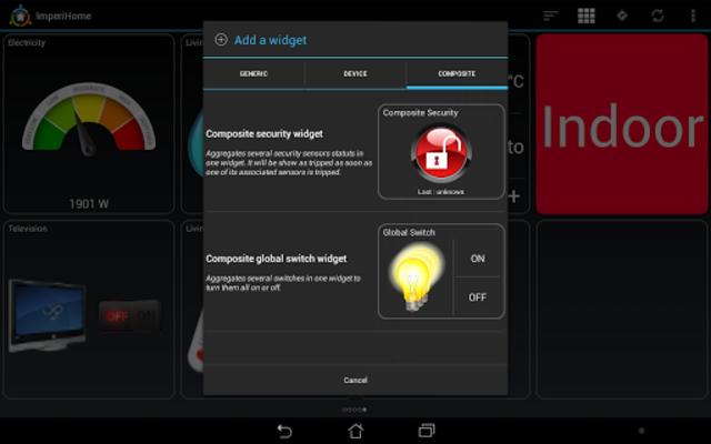 ImperiHome – Smart Home & Smart City Management screenshot 16