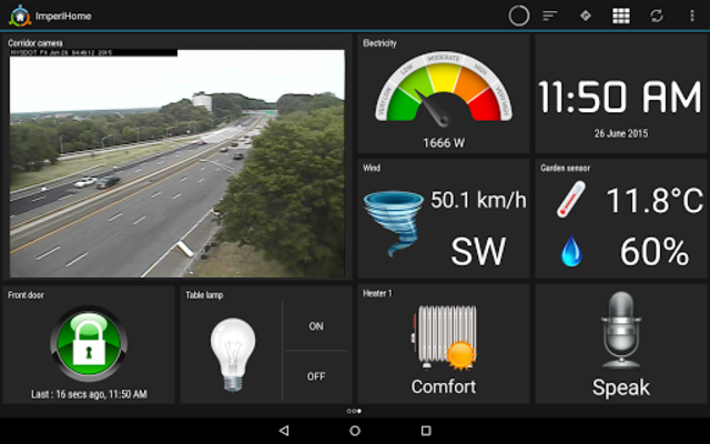 ImperiHome – Smart Home & Smart City Management screenshot 11