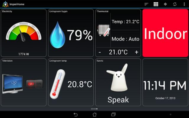 ImperiHome – Smart Home & Smart City Management screenshot 12