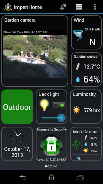 ImperiHome – Smart Home & Smart City Management screenshot 1
