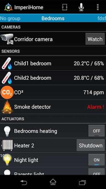 ImperiHome – Smart Home & Smart City Management screenshot 3