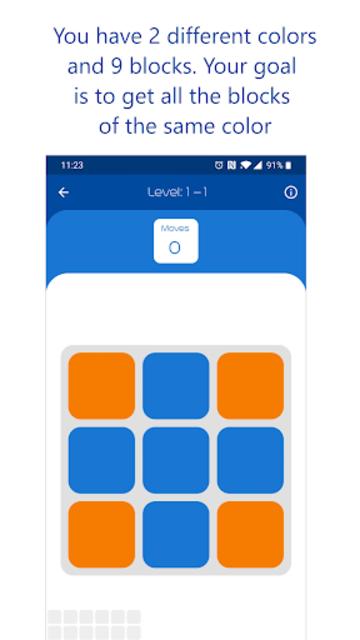 Impossiblocks - Puzzle Brain Game screenshot 1