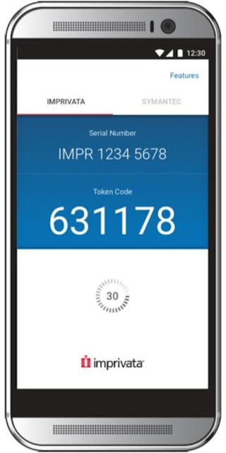 Imprivata ID screenshot 2