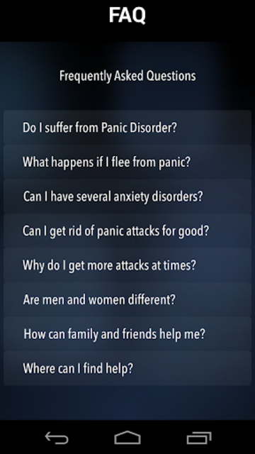 Panic Relief- stop anxiety now screenshot 8