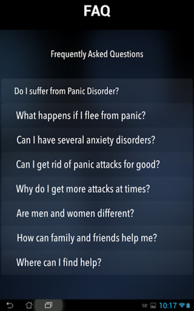 Panic Relief- stop anxiety now screenshot 15