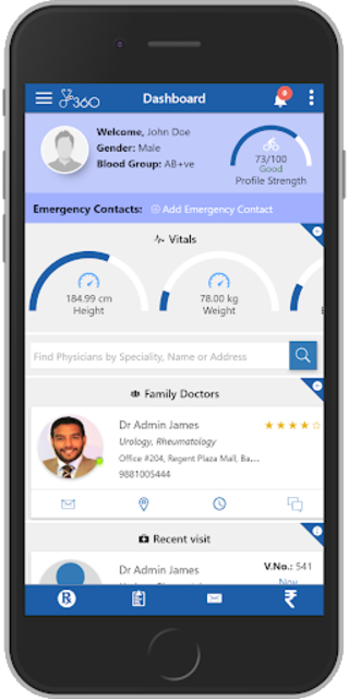 PC360 - Patient Portal screenshot 1