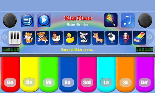 Kids Piano Free screenshot 1