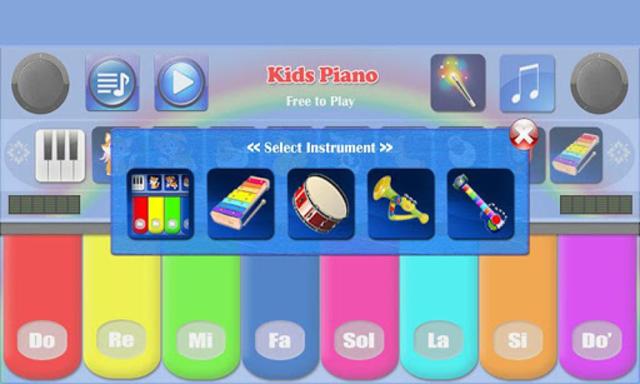 Kids Piano Free screenshot 2