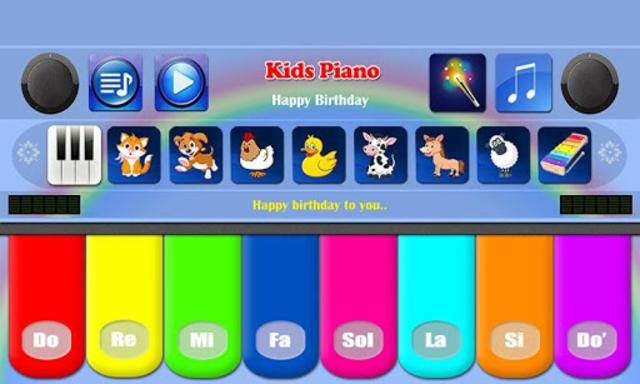 Kids Piano Free screenshot 5
