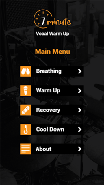 7 Minute Vocal Warm Up PRO screenshot 2