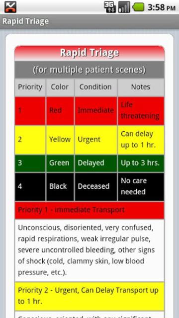 EMS BLS Guide screenshot 4