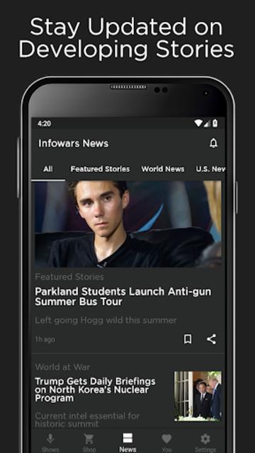 Infowars Official screenshot 4