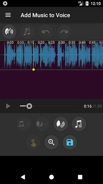 Add Music to Voice screenshot 2
