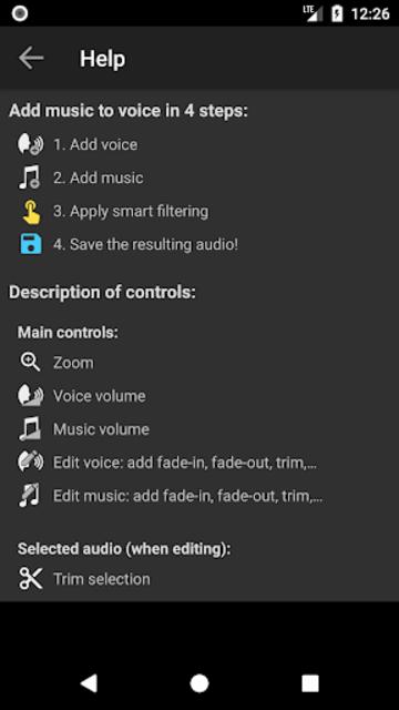 Add Music to Voice screenshot 8