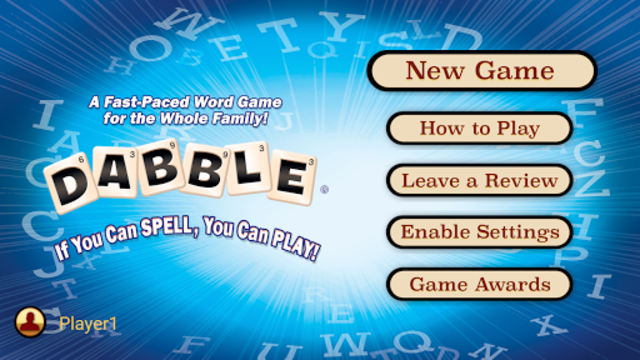 Dabble A Fast Paced Word Game screenshot 1