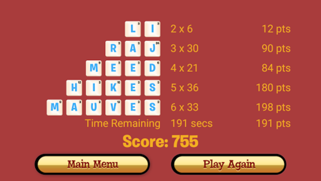 Dabble A Fast Paced Word Game screenshot 7