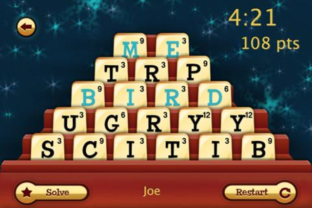Dabble A Fast Paced Word Game screenshot 2