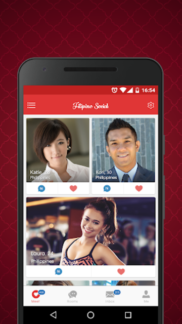 Filipino Social - Dating Chat Philippine Singles screenshot 1