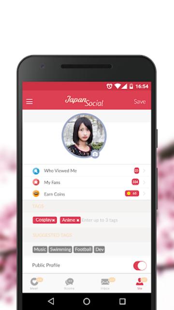 Japan Social- Asian Dating Chat App. Meet Japanese screenshot 3