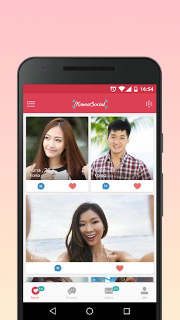 Korea Social ♥ Online Dating Apps to Meet & Match screenshot 1
