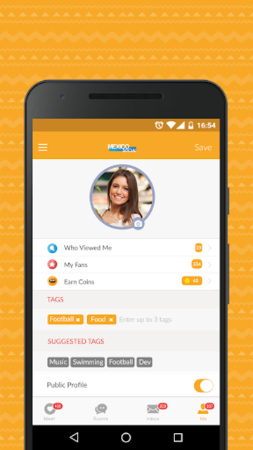 Mexico Social- Dating App & Date Chat for Mexicans screenshot 3