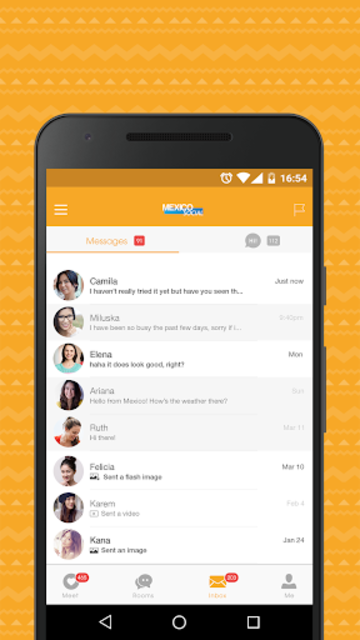 Mexico Social- Dating App & Date Chat for Mexicans screenshot 5