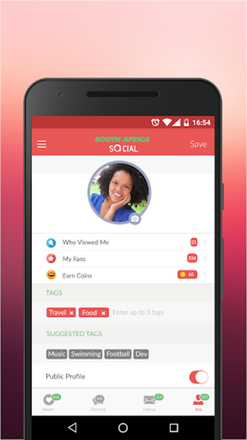South Africa Social - App for Dating Local Singles screenshot 3